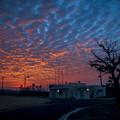 沖縄の朝焼け10@CANON-PowerShotG10