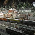列車通過中@原鉄道模型博物館