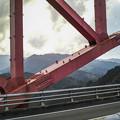 Photos: 干支大橋2@宮崎の延岡から高千穂に通じる一本道にて