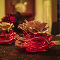 Photos: 赤いガラスの輝き