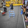 Photos: 竹馬ジャンプ!-2