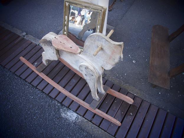 鏡に吸い込まれそうだ@第三回東京蚤の市;2013春-40