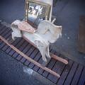 写真: 鏡に吸い込まれそうだ@第三回東京蚤の市;2013春-40
