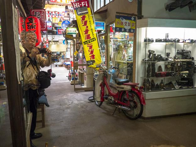 Photos: 鏡の迷宮に入った僕@高山昭和館-9