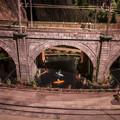 Photos: カヌーを楽しむ@原鉄道模型博物館にて