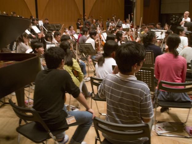 何気ない管弦楽の写真ですが