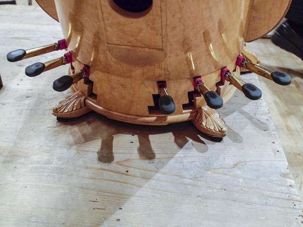Harpには7本のペダルがありますよ