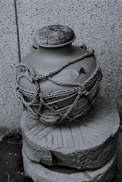 壺の縄の描写が気に入りました