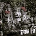 一番札所四萬部寺の裏にて1@秩父霊場巡礼の旅2013