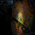 AAAギャラリー夜の看板