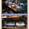 高山昭和館:炊飯器とオープンデッキ