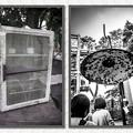 電気の傘、網の棚@第三回東京蚤の市;2013春-49