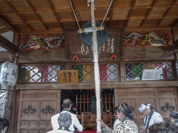 十番札所大慈寺の龍は綺麗な色彩でした@秩父霊場巡礼の旅2013