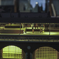 Photos: 旧万世橋駅のホームのディオラマ1夜