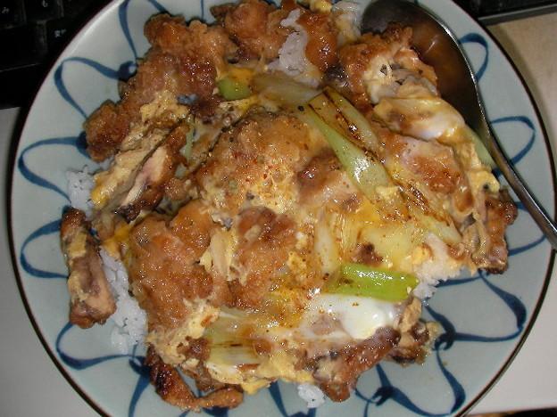 鶏唐親子丼