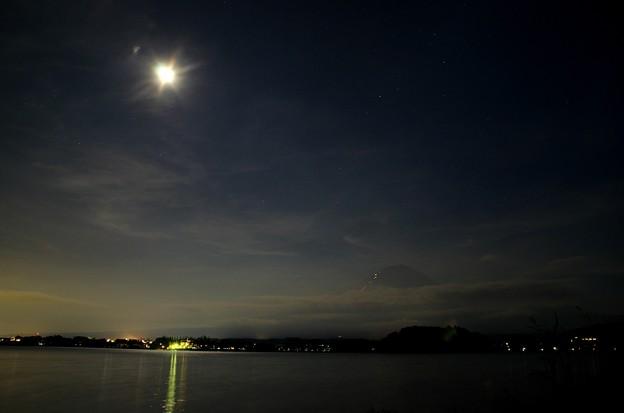 月光写真 河口湖大石公園03蠍座かなぁ?