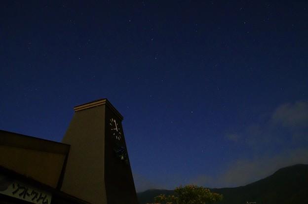 月光写真 河口湖大石公園05北斗七星