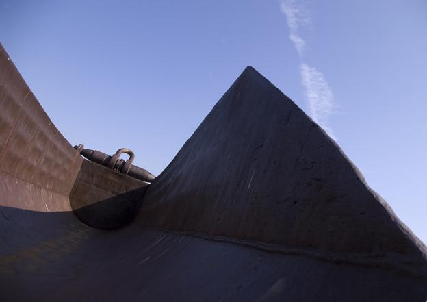 Photos: 埋め立て地から 2.ノアの方舟