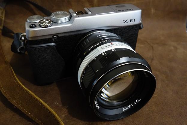 X-E1とKONICA AR HEXANON 57mm/F1.4 No.2