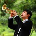 写真: 上田じん うえだじん トランペット奏者 Jin Ueda