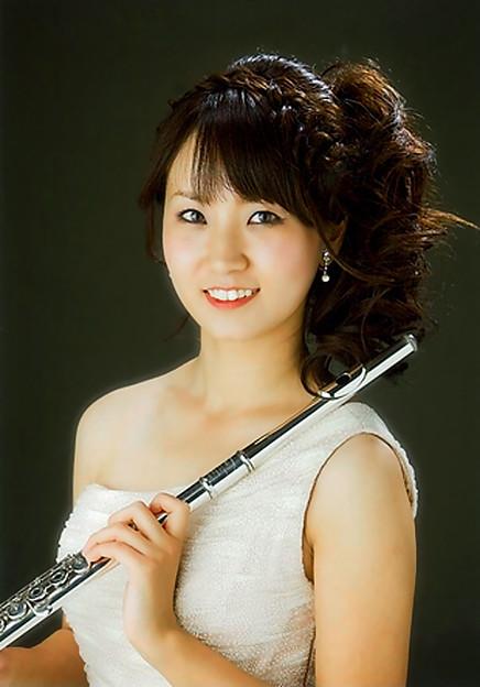 写真: 羽生田聖子 はにゅうだせいこ フルート奏者 フルーティスト   Seiko Hanyuda