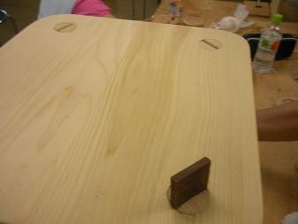 木工作品 スツール5