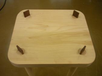 木工作品 スツール6