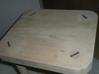 木工作品 スツール9