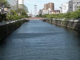 目黒川 東海橋から