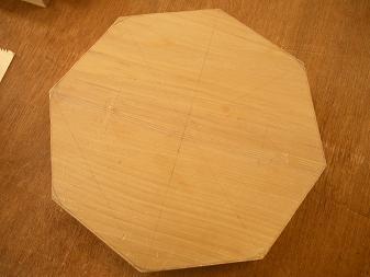 スツール八角形