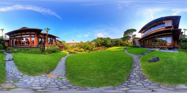 2012年7月29日 熱海 起雲閣 360度パノラマ写真(8) 庭園 HDR