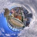 清水区 清水橋(跨線橋)からの眺望 Little Planet
