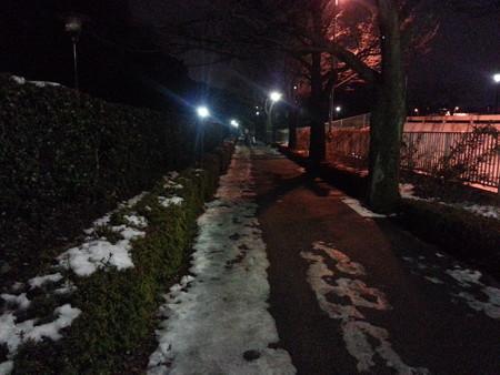 130117 皇居ラン(夜)