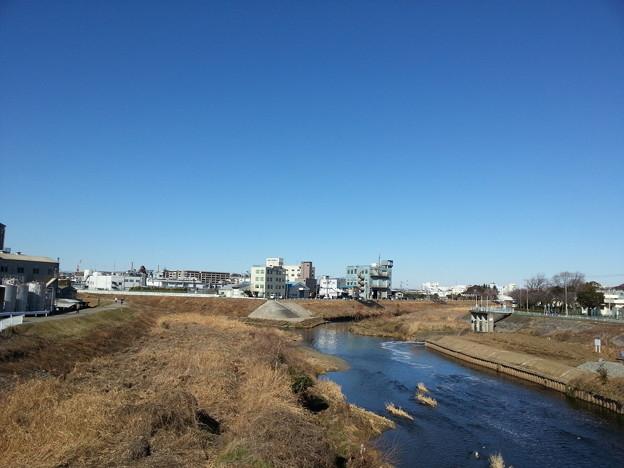 写真: 130127 鶴見川