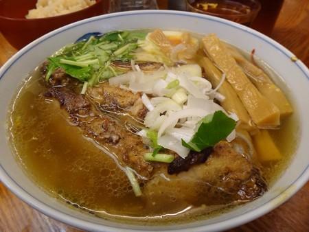 130322 麺屋ひょっとこ 和風柚子焼豚麺