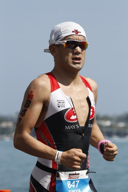 写真: IM 70.3 Auckland Run01