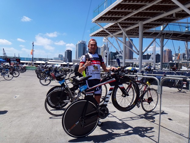 IM 70.3 Auckland Bike Check-In