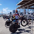 写真: IM 70.3 Auckland Bike Check-In