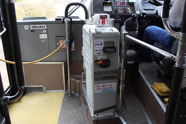 写真: 関東鉄道バス 運賃箱