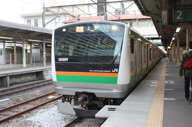 Photos: E233系3000番台タカL05編成 高崎線 3938M 快速アーバン 上野
