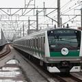 埼京線 E233系7000番台ハエ101編成 デビューヘッドマーク付き (5)