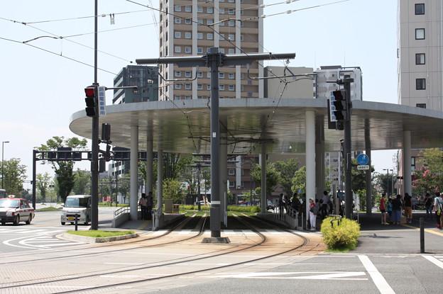 熊本市電 熊本駅前
