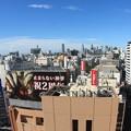 渋谷ヒカリエから見る新宿方面の風景 魚眼レンズ使用