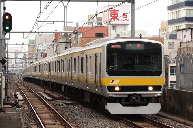 総武線 E231系ミツ4編成
