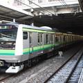 Photos: E233系6000番台H004編成 新津配給 後追い