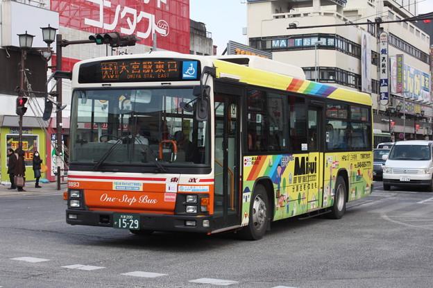東武バス 9893号車