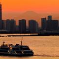 大黒大橋~富士山