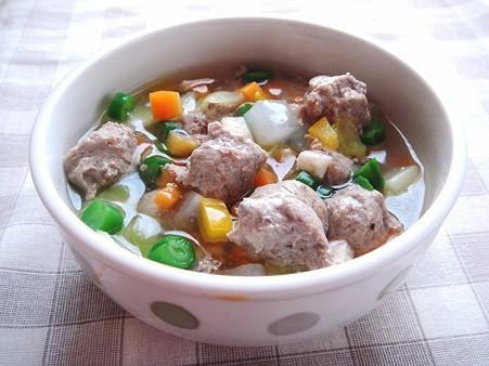 いわしすり身のあっさりスープ煮(シニア)