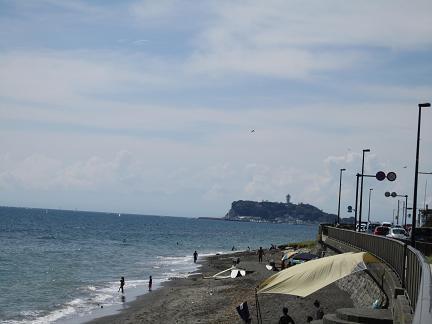 稲村ヶ崎からの江の島