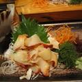 写真: 法螺貝のお刺身
